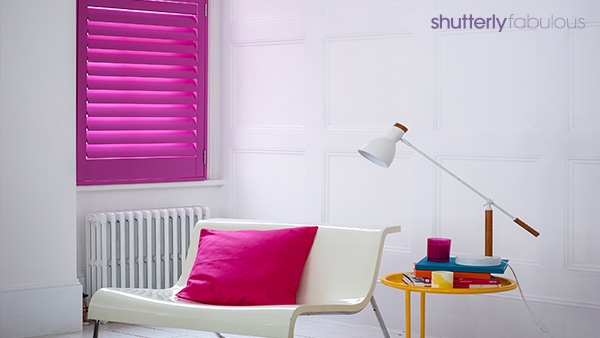 Radiant Orchid Shutter
