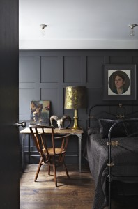 Farrow & Ball Railings Bedroom | Dark Luxe | Shutterly Fabulouse