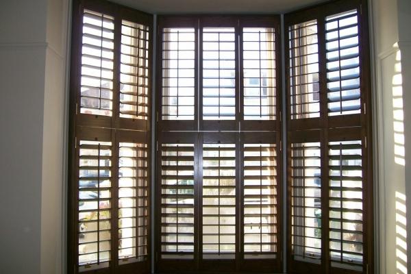 Blackpool Shutters Lytham St Anns Bay Window Installation