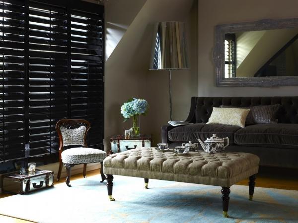 Classy living room Shutterly Fabulous