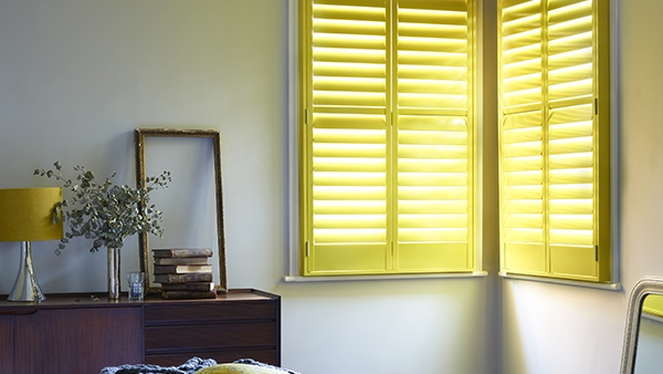 Bright Yellow Shutters