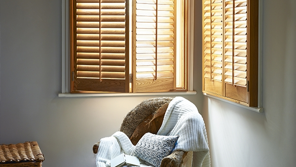 Natural Wood Shutters