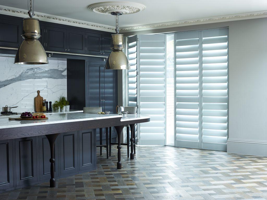 Kitchen Shutters White Shutters for Doors by Shutterly Fabulous