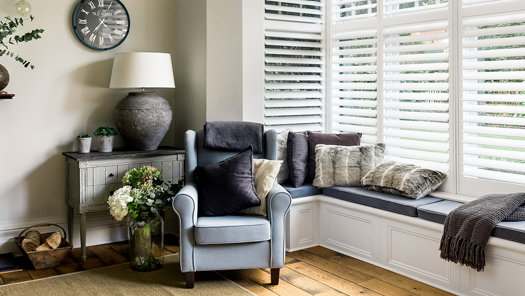 Reading Nook Shutters