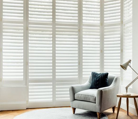 Shutters for Doors living room by Shutterly Fabulous
