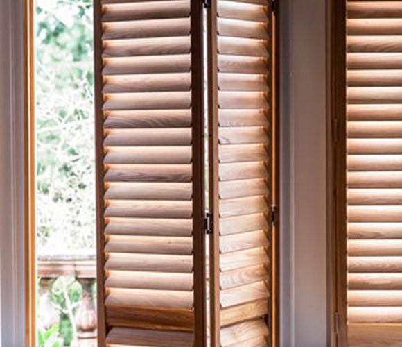 Shutters for Doors Natural Wood Shutters by Shutterly Fabulous