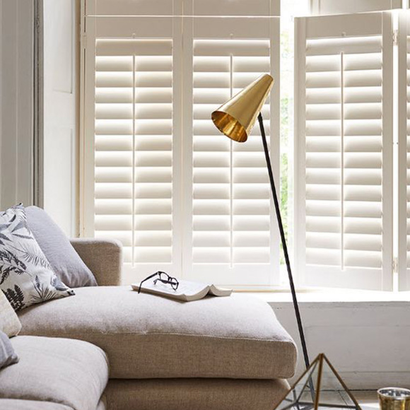 Tier on Tier Shutters for Living Room by Shutterly Fabulous