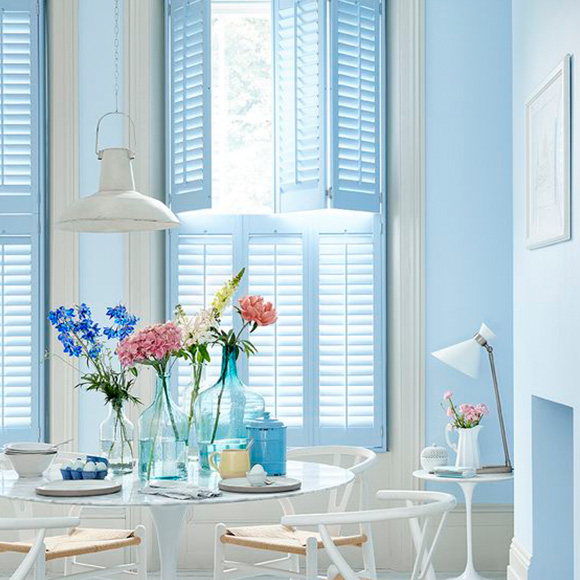 Tier on Tier Blue Shutters for Shutterly Fabulous