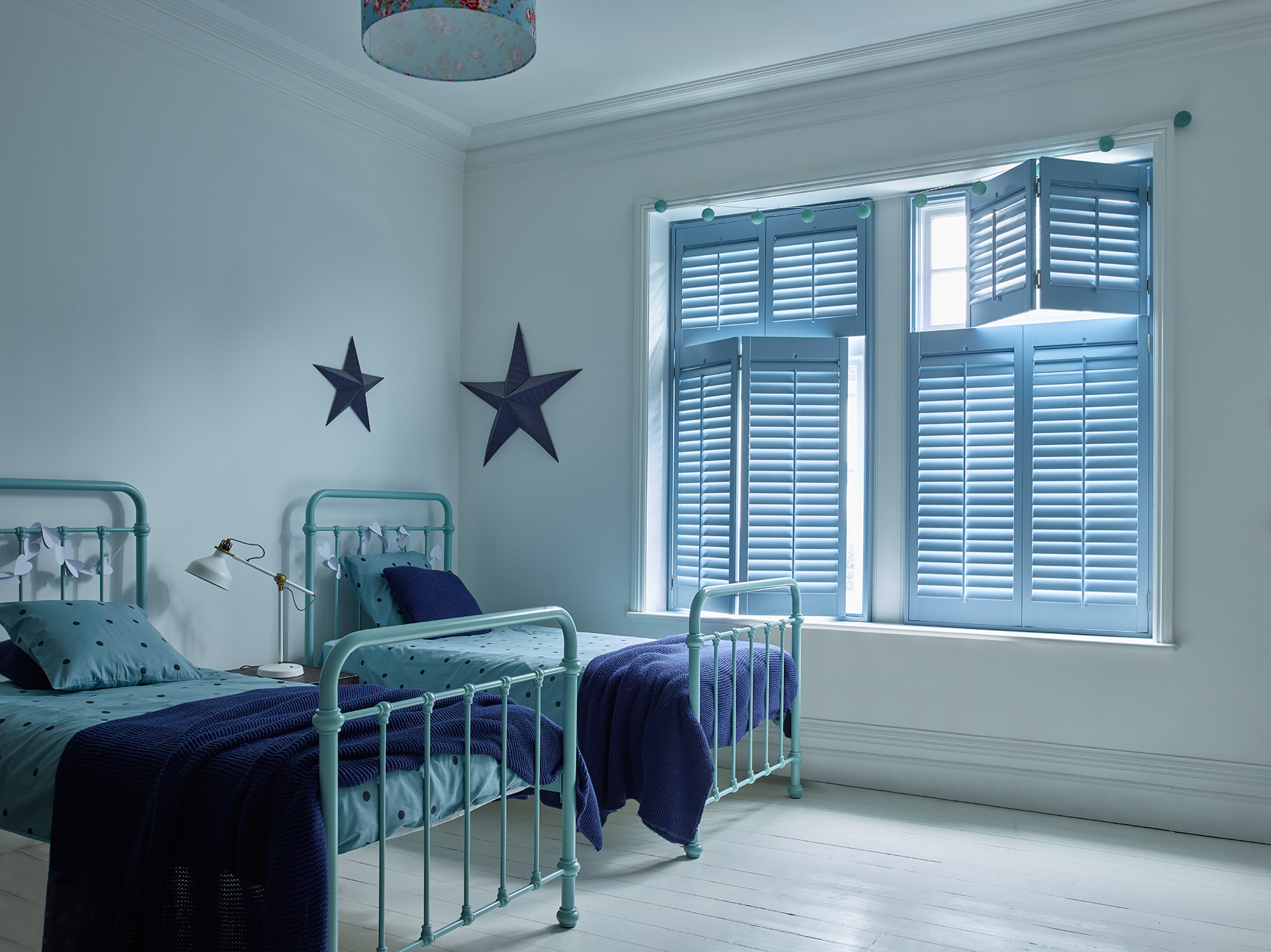 Which colour is best for your plantation shutters?