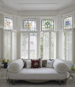 White shutters from Shutterly Fabulous
