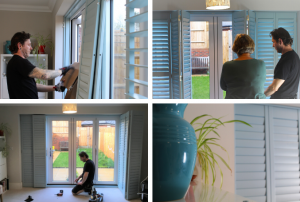 Full height shutters in Sussex by Shutterly Fabulous