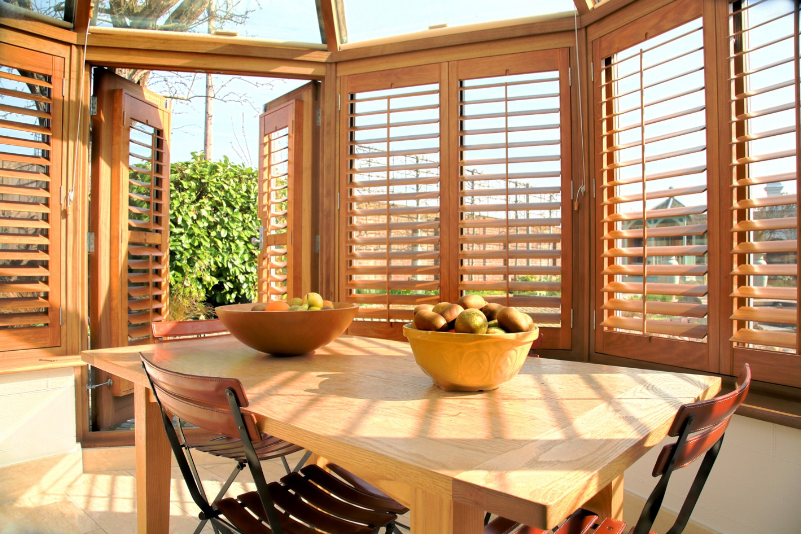 Decorating your Conservatory with Shutters