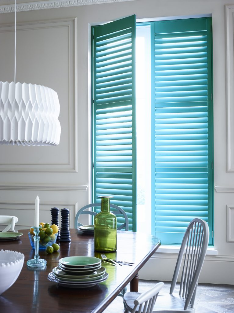 Which shutter slat size should I choose for my window?